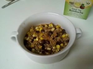 black bean corn turkey chili